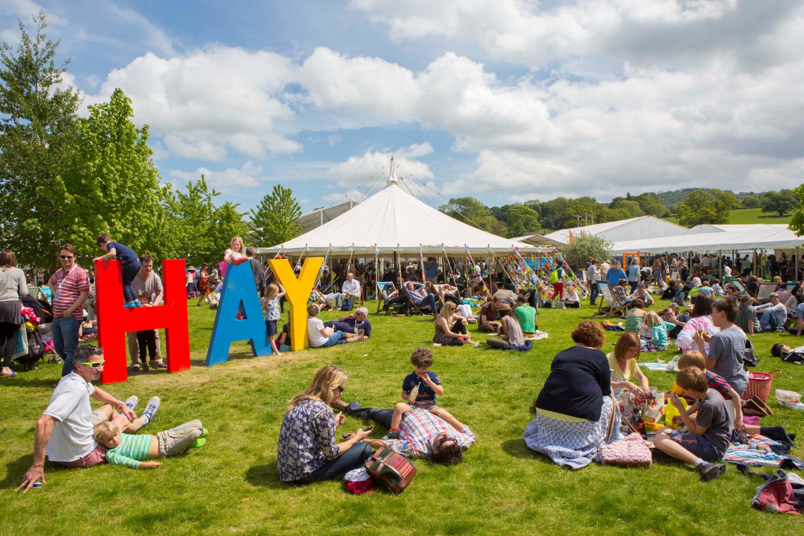 Til I'm Blue Launches, and Hay Festival Awaits