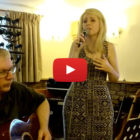 Herefordshire wedding/event singer April Shipton singing her song Least