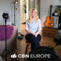 Sharing my healing story with CBN Europe for an exciting documentary