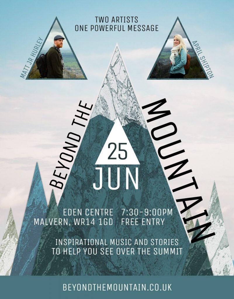 Beyond the Mountain at the Eden Centre in Malvern